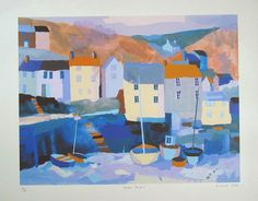 Winter Harbour by Richard Tuff
