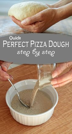 How To Make Easy Pizza At Home? Just see our video website and start making awesome pizza at home like the restaurant. it has pizza making the video tutorial. Pizza Cool, Pizza Recipes, Cooking Recipes, Making Homemade Pizza, Homemade Pizza Recipe, Tandoori Masala, Perfect Pizza, Homemade Pickles, Deep Dish