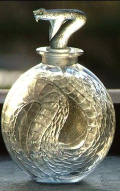 Lalique Perfume Bottle.