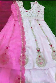 Embroidery Suits Punjabi, Embroidery Suits Design, Embroidery Designs, Rose Embroidery, Bridal Suits Punjabi, Punjabi Suits Party Wear, Punjabi Suits Designer Boutique, Indian Designer Suits, Anarkali Suits