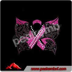 Glitter butterfly hotfix rhinestone transfer Rhinestone Transfers, Embroidery Patches, Rhinestones, Ribbon, Butterfly, Glitter, Chic, Pink, Tape