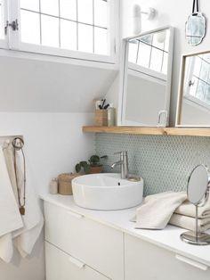 Una simple y bella idea para un gabinete de baño | A simple and beautiful idea for a bathroom cabinet