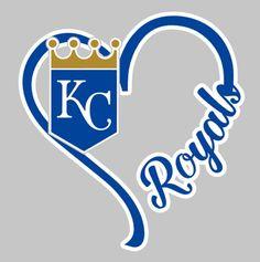 I Heart Royals, window decal, Kansas City, baseball, World Series Champs