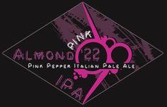 Cerveja Pink IPA Almond´22, estilo India Pale Ale (IPA), produzida por Almond '22, Itália. 6.2% ABV de álcool.
