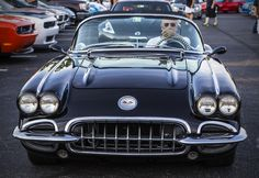 https://flic.kr/p/wJZ6eh   Black Corvette   4th Anniversary Coffee and Cars in Oklahoma City.