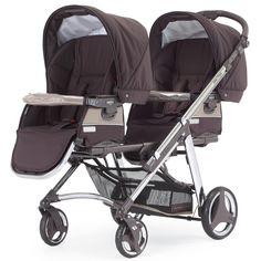#Kinderwagen für #Zwillinge mit 2 Sportwagenaufsätzen, Aufsätze können auch als Wanne verwendet werden, sie sind umbaubar, der #Zwillingswagen von Bébécar ist bei uns im Baby #Onlineshop erhätlich http://baby-lucien.de/Zwillingskinderwagen-One-Two-SE362::144.html