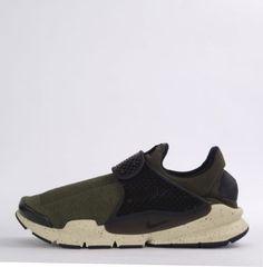 Nike-Sock-Dart-Mens-Unisex-Slip-On-Trainers-Shoes-Cargo-Khaki