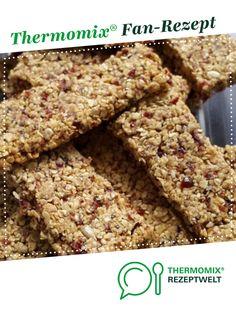 Müsliriegel mit Cranberries von Cloudy143. Ein Thermomix ® Rezept aus der Kategorie Backen süß auf www.rezeptwelt.de, der Thermomix ® Community.