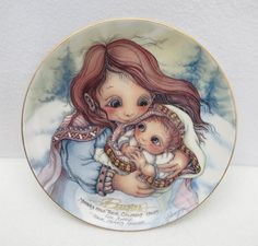 """Jody Bergsma Collectible Plate """"A tribute to Jessy"""" by Framarines on Etsy"""