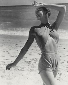 Vintage swim: 1940s Claire McCardell