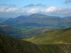 Skiddaw, Lake District, Cumbria