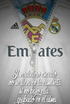 """""""Grabado en el alma"""" Real Madrid, Jeep Renegade, Soccer, David, Football Pictures, Manualidades, Printmaking, T Shirts, Sports"""
