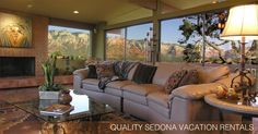 Red Rock Realty offers quality Sedona Vacation Homes, all fully furnished and…