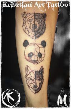 animals geometric - Krisztian Art Tattoo