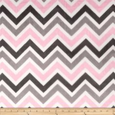 This printed minky fabric has an extremely soft 3 mm pile that's perfect for apparel, blankets, throws, pillows and stuffed animals. Colors include blush, white, silver and ash.