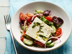 Classic Greek Salad #FNMag