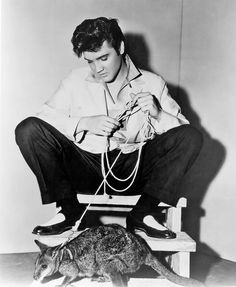 Elvis Presley Through the Years    http://www.rollingstone.com/music/pictures/elvis-presley-through-the-years-20120816/louisiana-hayride-0752772#