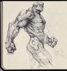 by thiago-almeida on DeviantArt Cool Sketches, Drawing Sketches, Art Drawings, Comic Drawing, Anatomy Sketches, Anatomy Drawing, Comic Kunst, Comic Art, Poses References