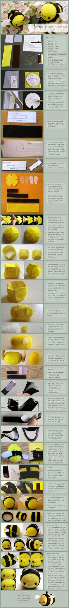little bumblebee tutorial