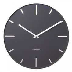 Karlsson 40cm Black Belt clock