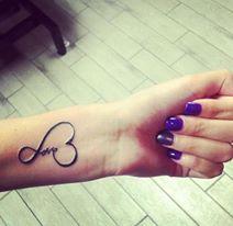 Infinite Love Tattoo Wrists.. Liked it..??