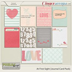 At First Sight [Journal Card Pack]