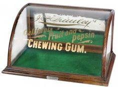 Chewing Gum Display Case, J. P. Primley's California