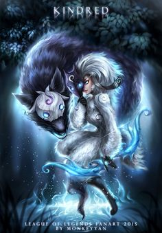 Kindred by monkeyyan on DeviantArt
