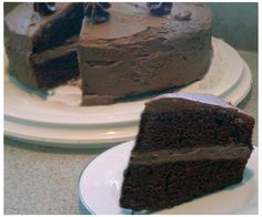 Double-Chocolate Layer Cake Recipe - Food.com. Ina Garten says it's the best chocolate cake she's ever had.