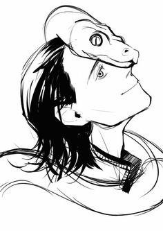 Loki Laufeyson / Sketch || Cr: 트렘