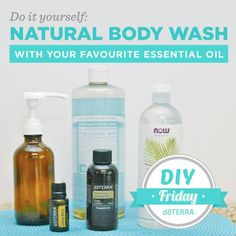 Personal care items, including most body washes, often contain artificial fragrances, chemicals, and dyes that can irritate the skin. Try making this easy DIY Natural Body Wash with your favourite dōTERRA essential oils! Your whole family will love it!