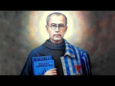 St. Maximilian Kolbe, in 1941 he was arrested again and sent to the concentration camp at Auschwitz. On July 31, 1941, in reprisal for one prisoner's escape, ten men were chosen to die. Father Kolbe offered himself in place of a young husband and father. And he was the last to die, enduring two weeks of starvation, thirst, and neglect.Feastday Aug.14