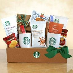 Classic Starbucks and Cocoa http://elegantgifts4all.labellabaskets.com/