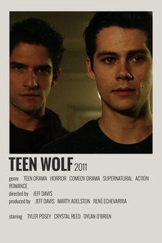 Alternative Minimalist Movie/Show Polaroid Poster - Teen Wolf - Alternative Minimalist Movie/Show Polaroid Poster – Teen Wolf made by 🌩m a j a - Iconic Movie Posters, Minimal Movie Posters, Cinema Posters, Movie Poster Art, Poster Wall, Series Poster, Movie Collage, Wall Collage, Poster Minimalista