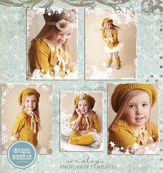 INSTAND DOWNLOAD  Photo Overlays Snowflake by StudioBeeKay on Etsy
