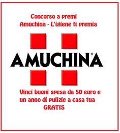 Vinci un anno di pulizie a casa tua e buoni spesa con Amuchina - http://www.omaggiomania.com/concorsi-a-premi/vinci-anno-pulizie-casa-tua-buoni-spesa-amuchina/