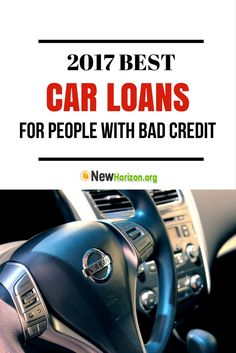 2017 Best Car Loans for People with Bad Credit | Auto Loans for Poor Credit  #carloans #badcreditcarloans #autoloans