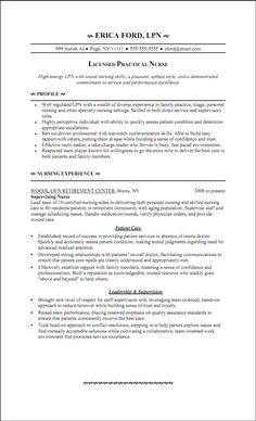 lpn resume writing guide and sample sample resumes