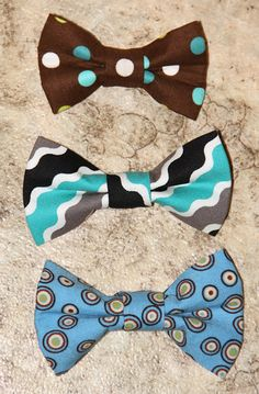 Gummy Bears and Pony Tails: Baby Boy Bow Ties think that Blakely will need these.