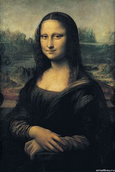 Леонардо да Винчи. Мона Лиза Джоконда