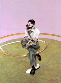 Study for a portrait by Lucian Freud Francis Bacon, 1971