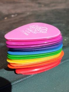 rainbow guitar picks