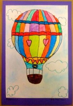 1000 images about elementary art hot air balloons on