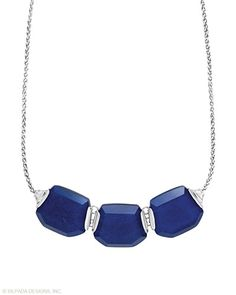 Blue Grotto Necklace, Necklaces - Silpada Designs Lovely Lapis $159.00  N3024 www.mysilpada.com/jody.akers