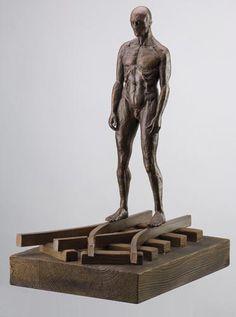 Bronze Sculpture, Sculpture Art, Lorenzo Quinn, Italian Sculptors, Fine Art Gallery, Carpe Diem, Painting, Figurative, Statues