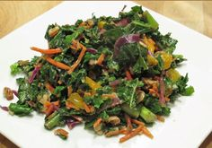 I found this packaged organic kale salad at my local Whole Foods and I thought, what a quick way to prepare this #1 rated plant-based superfood!