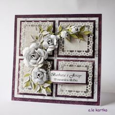 I love the flower spray Z Cards, Paper Cards, Cool Cards, Stampin Up Cards, Heartfelt Creations, Scrapbooking, Scrapbook Cards, Shabby Chic Cards, Beautiful Handmade Cards
