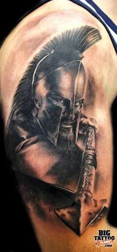 Resultado de imagen para spartan tattoo