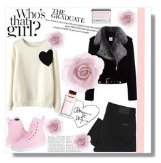 """"""":$"""" by dzeniita10 ❤ liked on Polyvore featuring Mode, Dr. Martens, WithChic, Nudie Jeans Co., La Bête, Clinique, Dolce&Gabbana und Accessorize"""