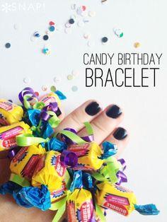 Candy Birthday Brace